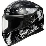 Shoei Plugin' Elektro RF-1100 Sports Bike Racing Motorcycle Helmet - TC-5 / Large