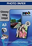 Inkjet A3 180g Glossy Photo Paper-100 sheets **Special Deal**