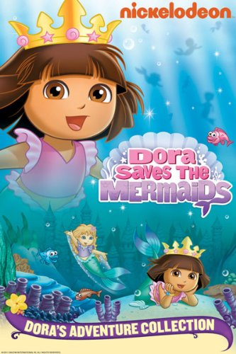 Amazon.com: Dora Saves the Mermaids: Kathleen Herles, Harrison Chad, Jake T. Austin, Marc Weiner