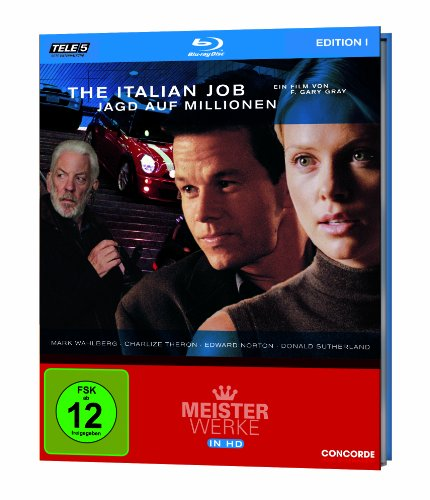 The Italian Job - Jagd auf Millionen - Meisterwerke in HD Edition 1/Teil 5 [Blu-ray]
