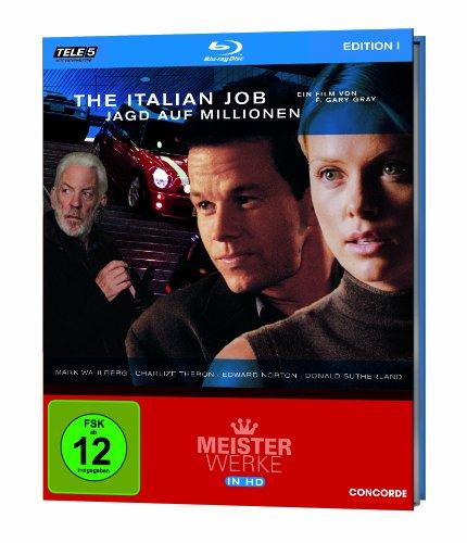 The Italian Job - Jagd auf Millionen - Meisterwerke in HD Edition 1/Teil 5 [Blu-ray]