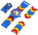 Lego Kids 9005619 DC Universe Super Heroes Superman Minifigure-Link Watch