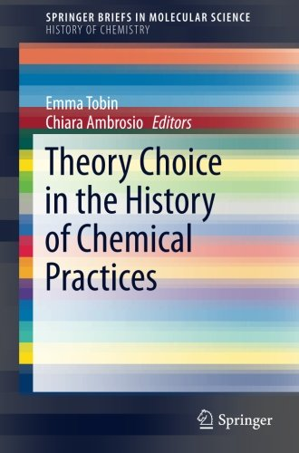 Theory Choice in the History of Chemical Practices (SpringerBriefs in Molecular Science)