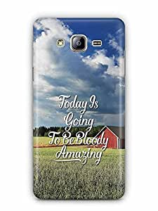 YuBingo Today's going to be bloody amazing Designer Mobile Case Back Cover for Samsung Galaxy On 5 Pro