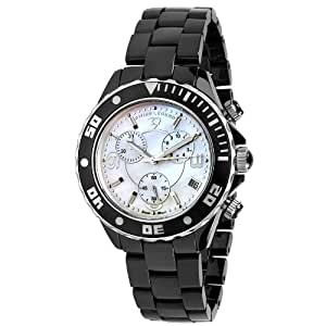 Swiss Legend Men's 30050-BKWSR Karamica Collection Chronograph Black Ceramic Watch
