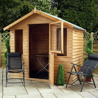 Overlap Summerhouse with Stable Door
