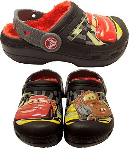 crocs 12372 Cars GITD Lnd Clog (Toddler/Little Kid),Black/Charcoal,12 M US Little Kid