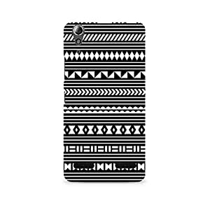 TAZindia Printed Hard Back Case Cover For Lenovo A6000