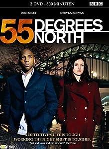 2 DVD - 55 DEGREES NORTH - SERIES 1 - IMPORT - ENGLISH AUDIO - REGION 2