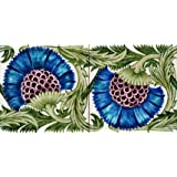 Cornflowers, tile design, by William De Morgan (V&A Custom Print)