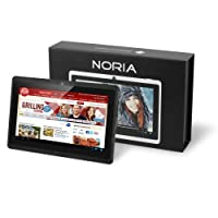 "NORIA T2 7"" Android JellyBean Tablet PC - Multi Touch. 8GB Flash Local Memory. HDMI Port (Bonus HDMI Cable Included). Dual Core CPU. Integrated Dual Camera 2MP - Black - September 2013. from Chromo Inc"