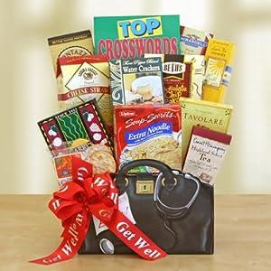 Organic get well gift baskets