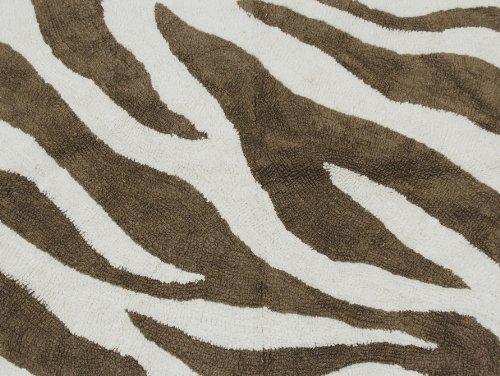 Pam Grace Creations Rug, Zara Zebra front-742222