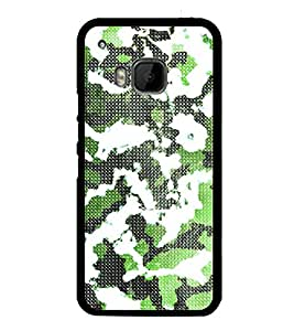 Army Fatigue Pattern 2D Hard Polycarbonate Designer Back Case Cover for HTC One M9 :: HTC One M9S :: HTC M9 :: HTC One Hima