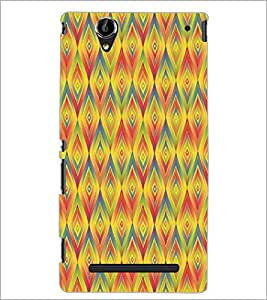 PrintDhaba Pattern D-5235 Back Case Cover for SONY XPERIA T2 ULTRA (Multi-Coloured)