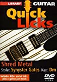 Lick Library: Guitar Quick Licks - Synyster Gates Shred Metal [DVD]