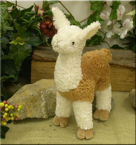 "Wishpets 7"" Standing Llama 2-Tone Plush Toy"