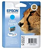 Epson T0712 DURABrite Singlepack Ultra Ink - Cyan