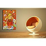 Tamatina Kerala Mural Canvas Paintings - Sri Ganesh - Traditional Canvas Paintings