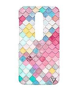 Vogueshell Multicolour Tiles Printed Symmetry PRO Series Hard Back Case for Motorola Moto G3