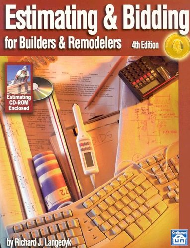 Estimating & Bidding for Builders & Remodelers - Craftsman Book Co - CR268 - ISBN: 1572181559 - ISBN-13: 9781572181557