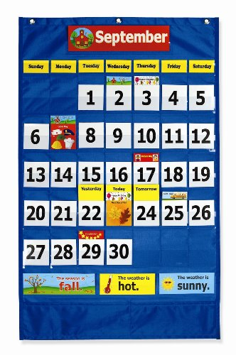 Pacon Calendar Weather Pocket Chart (0020800) (Weather Pocket Chart compare prices)