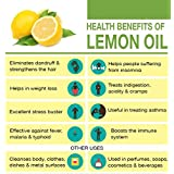 Ambrosial Lemon Essential Oil 100% Natural Organic Uncut Undiluted (1000ML)