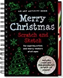 img - for Merry Christmas Scratch and Sketch: An Art Activity Book for Aspiring Artists and Merry-Makers of All Ages (Scratch & Sketch) book / textbook / text book