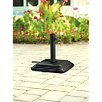 Mainstays Concrete Umbrella Base (Black)