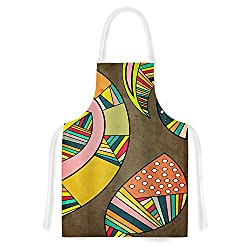 KESS InHouse Danny Ivan Cosmic Aztec Artistic Apron, 31 by 35.75 , Multicolor