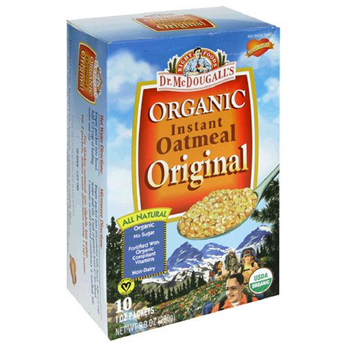 Dr. McDougall's Right Foods Organic Instant Oatmeal