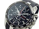 セイコー SEIKO スポーチュラ クロノグラフ 腕時計 SNAE87P1 ブラック[並行輸入]