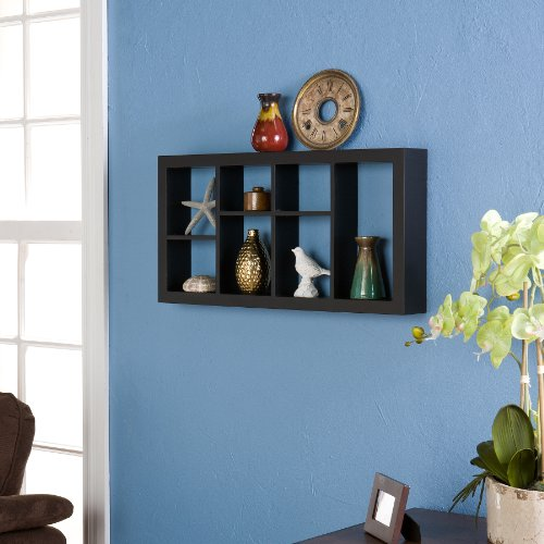 Southern Enterprises 24-Inch Taylor Display Shelf, Black