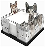 Got Yo Gifts Siberian Husky Fence Note Holder