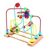 US-CPSC-Certified-BATTOP-Wooden-Bead-Roller-Coaster-First-Bead-Maze-for-Kids