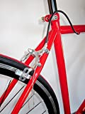 Single Speed , RED ,Freewheel rear hub Road Bicycle , Fixed Gear , Track , Road Bike NEW – 55CM