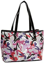 Hot Sale Nine West Can't Stop MD Tote,Grey Multi,One Size