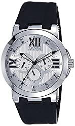 Aspen Multifunction Analog Silver Dial Mens Watch - AM0007