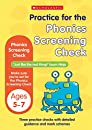 Phonics Screening Check (Practice Papers National Tests)