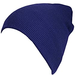 Artex Unisex Thinsulate Classic Beanie Hat Cap (One Size, Navy)