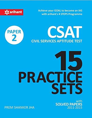 15 Practice Sets - CSAT Paper-2 (Civil Services Aptitude Test)- English