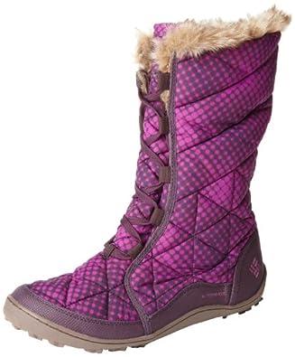 Columbia Women's Minx Mid Omni-Heat Winter Boot,Boysenberry,12 M US