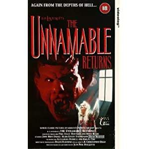The Unnamable II: The Statement of Randolph Carter [VHS