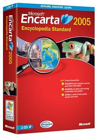 Microsoft Encarta Standard 2005 [OLD VERSION]