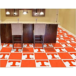 Tennessee Volunteers NCAA Team Logo Carpet Tiles by Fanmats