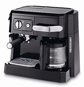 De'Longhi BCO410 Front Loading 15-Bar Combi Coffee Machine