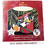Hallmark Keepsake Ornament - Donald's Surprising Gift Hallmark Archives #1 in Series 1997 (QXD4025)