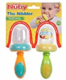 Nuby 2 Pack Nibbler with Cap