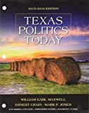 img - for Bundle: Texas Politics Today 2015-2016 Edition, Loose-leaf Version, 17th + LMS Integrated for MindTap Political Science, 1 term (6 months) Printed Access Card book / textbook / text book