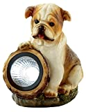 Adorable Dog Ornament with Illuminating Solar Light to Light up your Garden